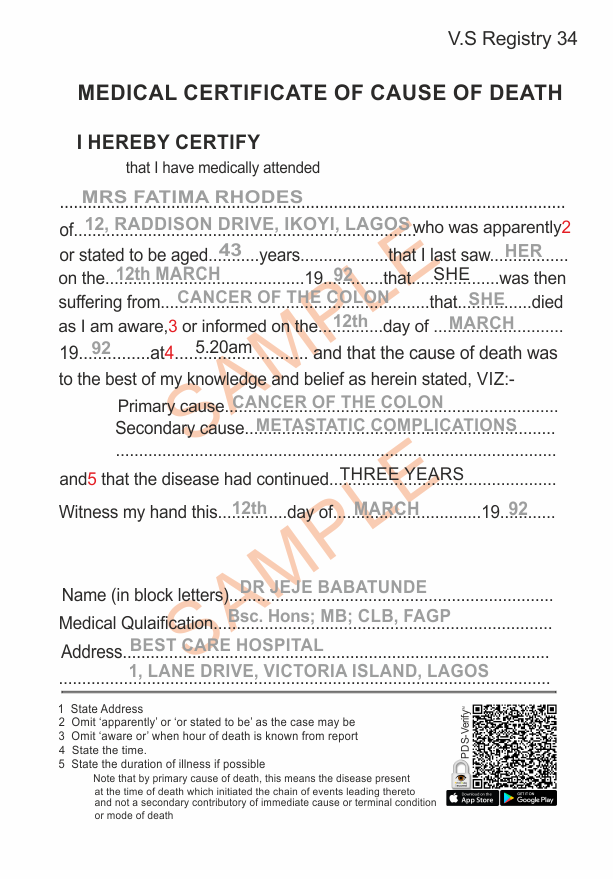 Sample death certificate request letter gallery certificate sample death certificate request letter choice image certificate sample letter requesting death certificate choice image sample yelopaper Gallery